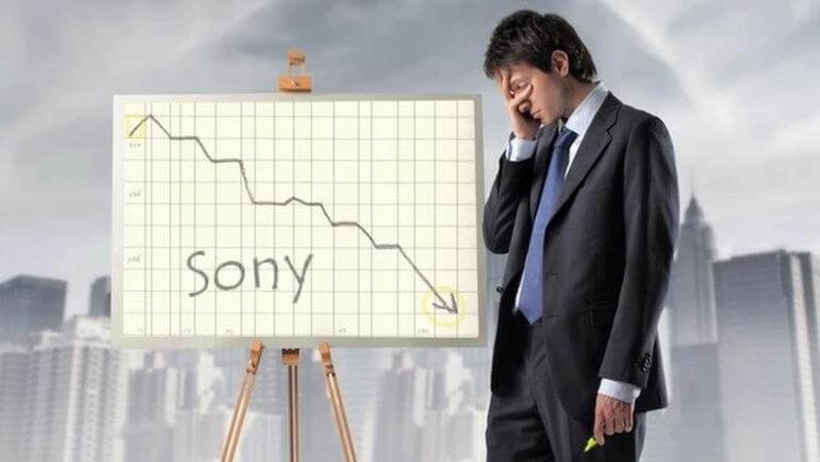 Sony продолжает терпеть убытки