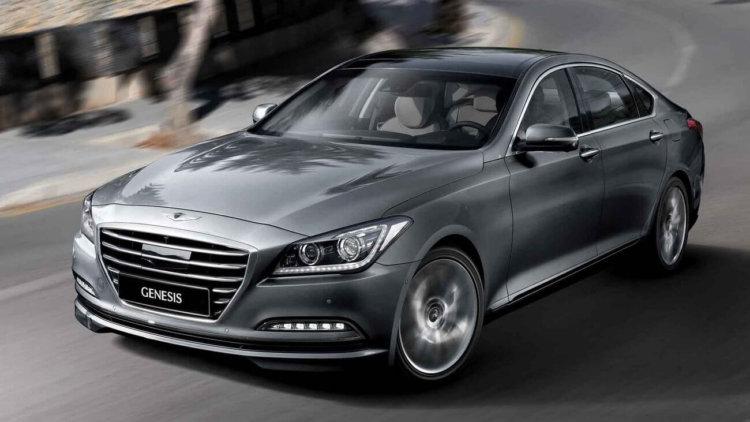 В Hyundai Genesis будет встроена система автоматического торможения при приближении к радарам