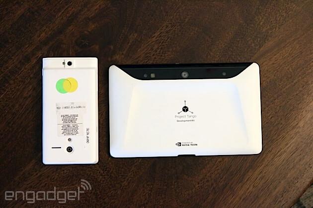 3D-Sensing Project Tango Tablet