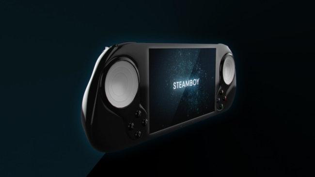 SteamBoy – портативная игровая консоль с поддержкой Steam OS