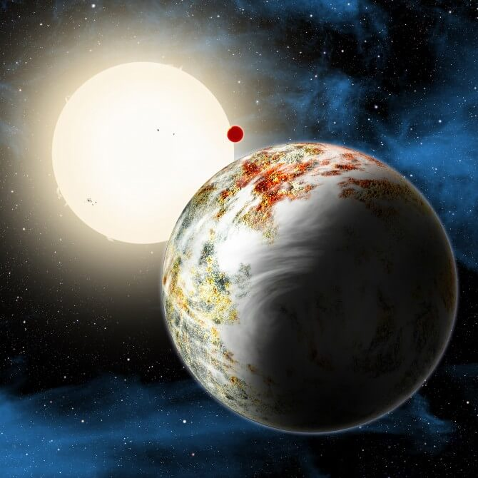 Планета, существующая вопреки законам (3 фото)