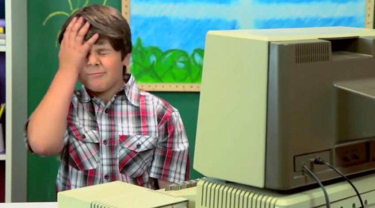 Как современные дети реагируют на старые компьютеры