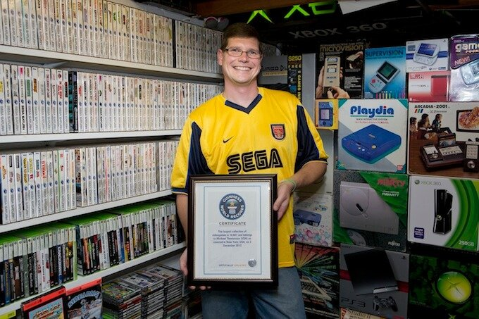 Самая большая в мире коллекция видеоигр выставлена на продажу