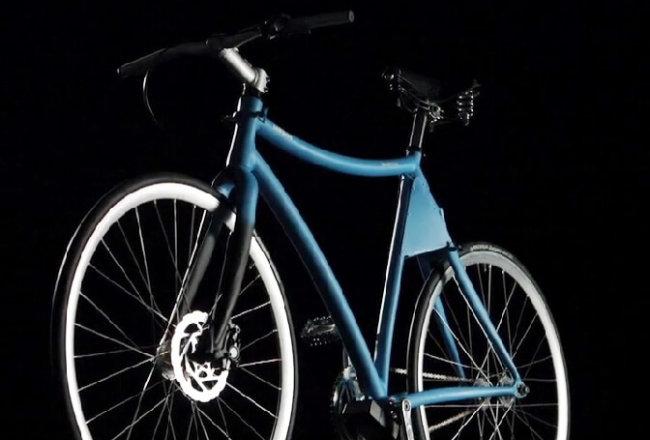 Концепт умного велосипеда от Samsung