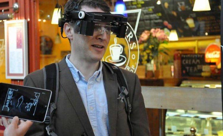 Умные очки для слепых