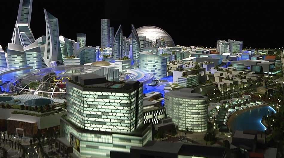 В Дубае возведут первый в мире город с климат-контролем