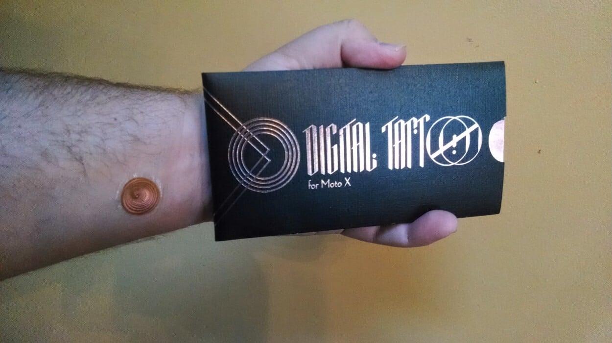 Татуировка для разблокировки смартфона