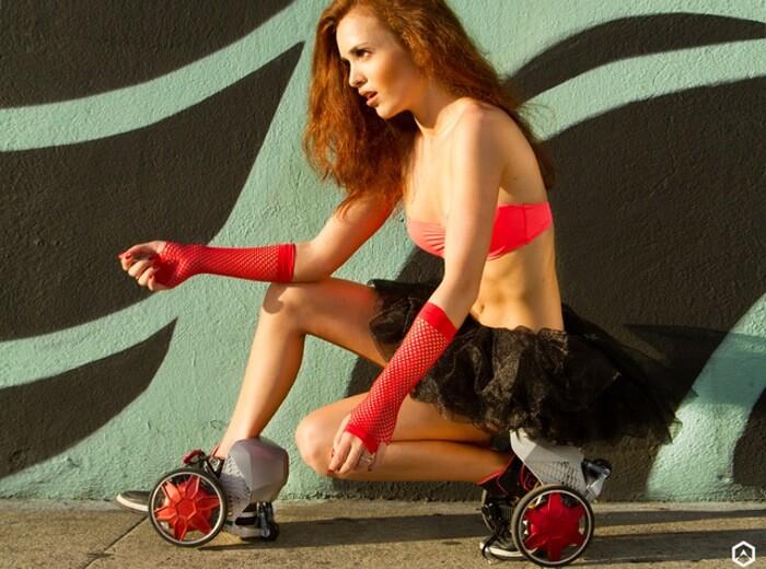 Action R Rocket Skates – роликовые коньки на электрической тяге