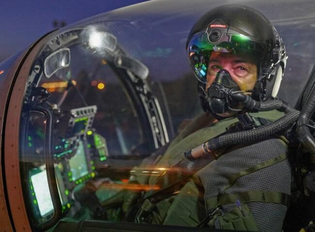 Шлем с ночным видением для пилотов