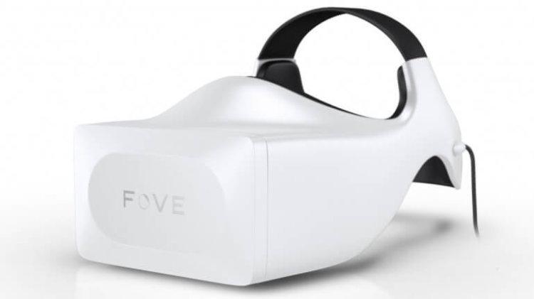 Гарнитура Fove предложит пользователям технологию отслеживания взгляда