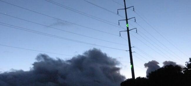 Лазерная установка отпугнет птиц от линий электропередач