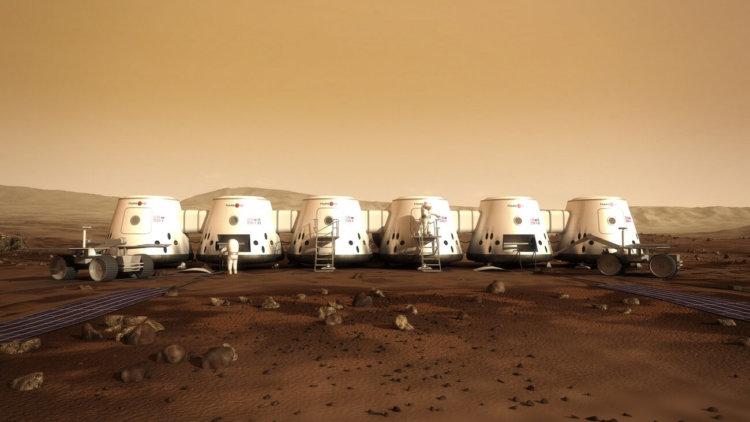 На Марс отправят оборудование