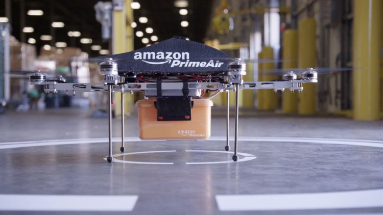 БПЛА для доставки грузов от Amazon