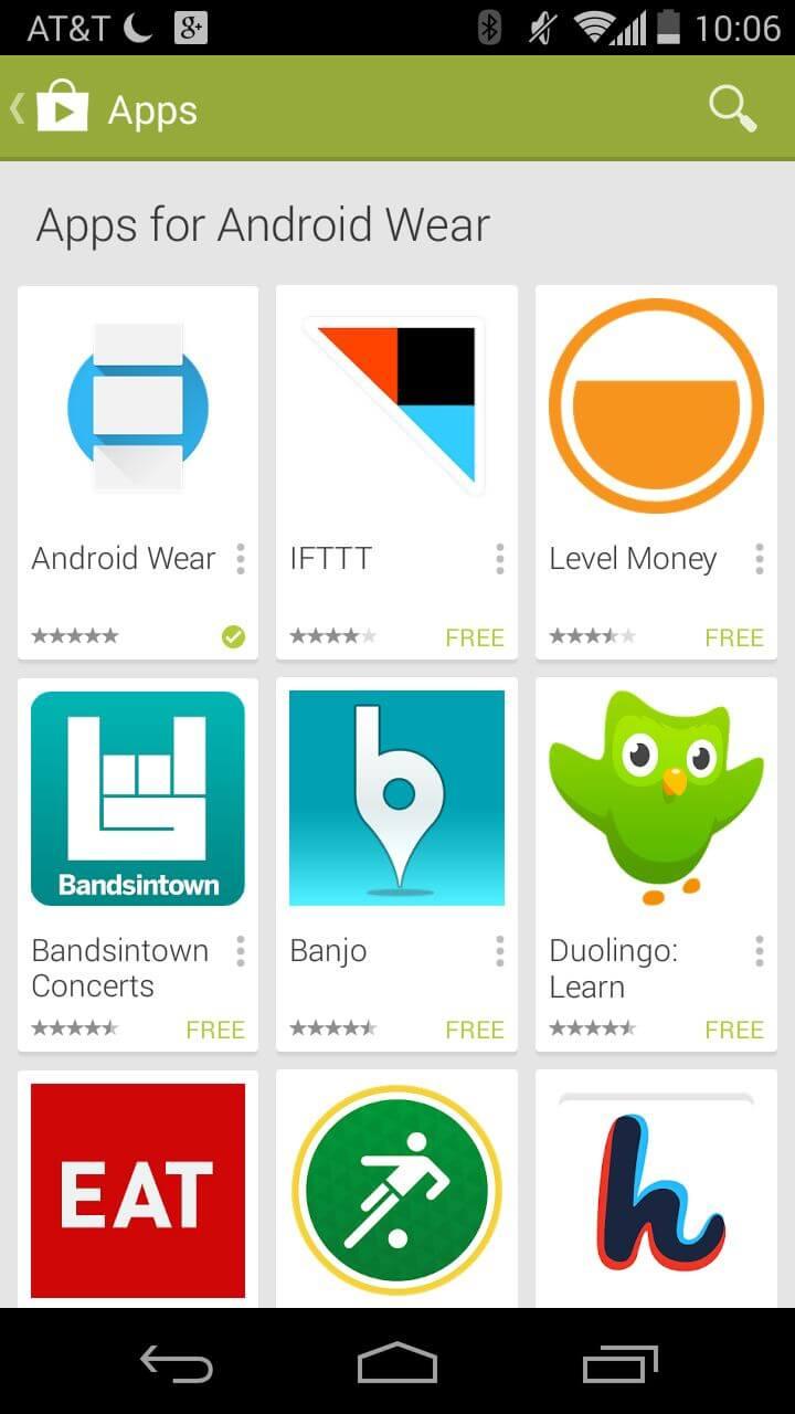Разработчики буквально наперегонки создают приложения для Android Wear