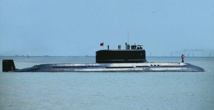 Китайские подводные лодки смогут перемещаться на сверхзвуковой скорости