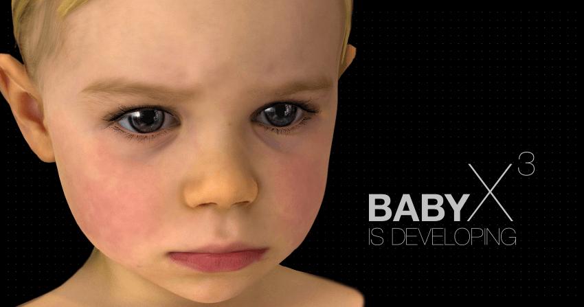 Baby X – виртуальный ребёнок, способный к самообучению