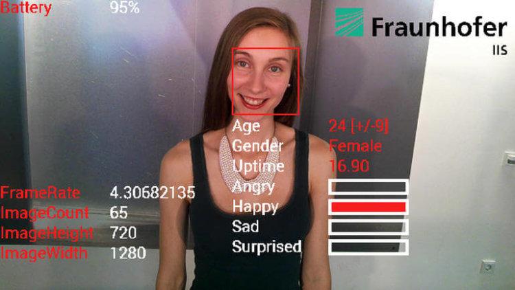 Google Glass определяет эмоции