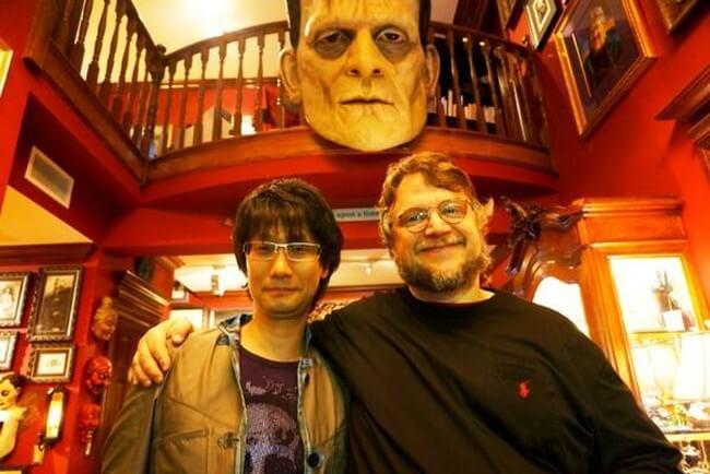 Кодзима и Дель Торо в квартире-музее последнего