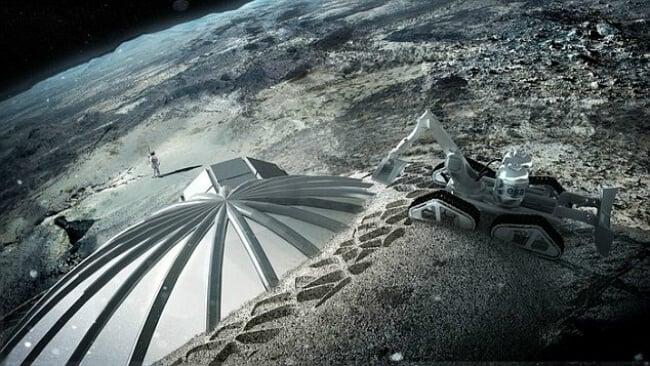 Китай будет на Луне добывать полезные ископаемые