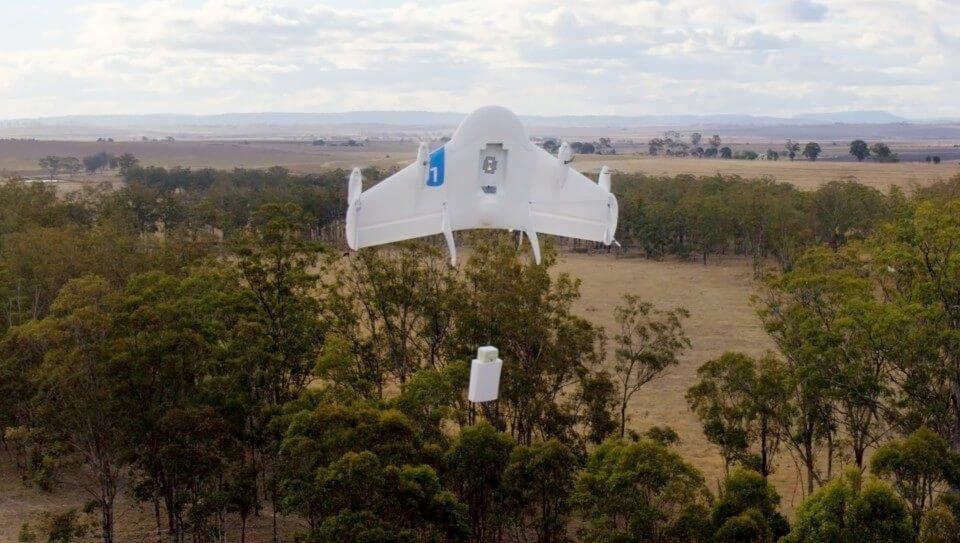 Дрон Project Wing от Google