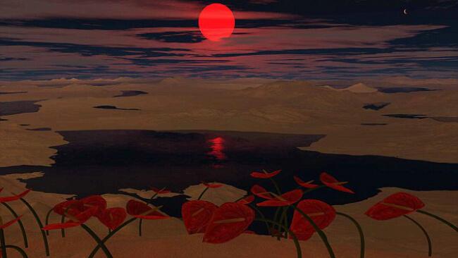 Планета в обитаемой зоне - иллюстрация
