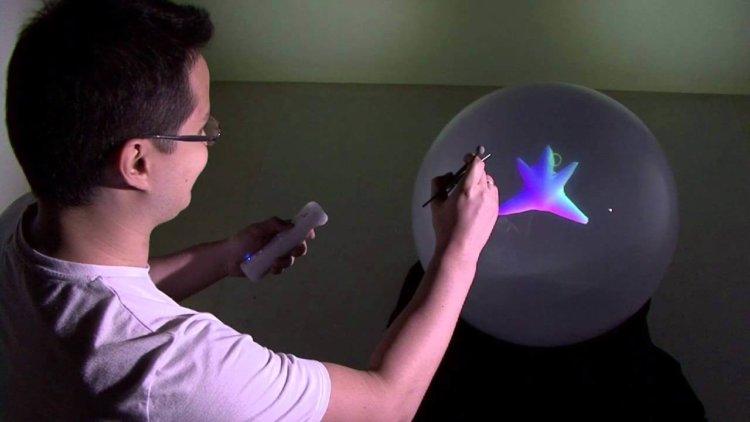 Spheree создает 3D изображение в шаре