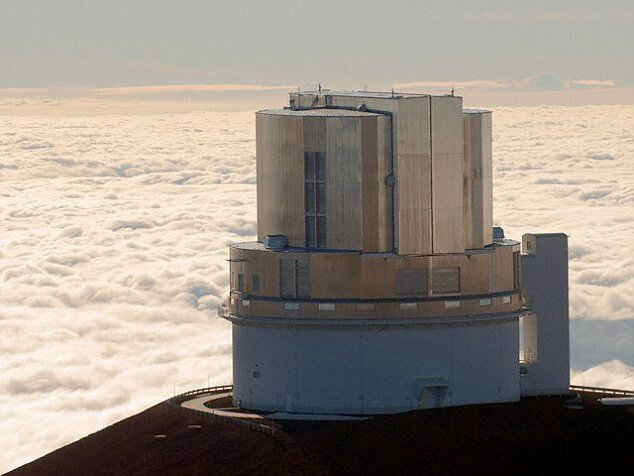 The Subaru Telescope Atop Hawaii's Mauna Kea