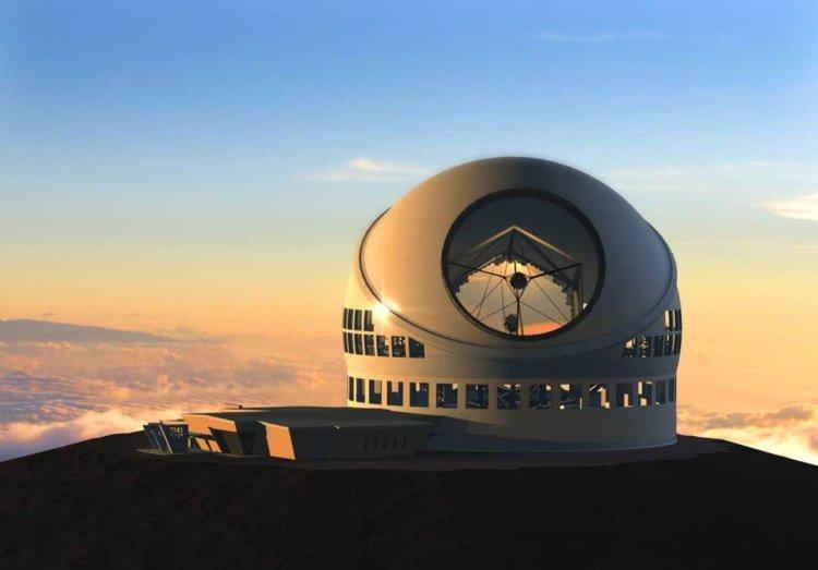 30-метровый телескоп TMT