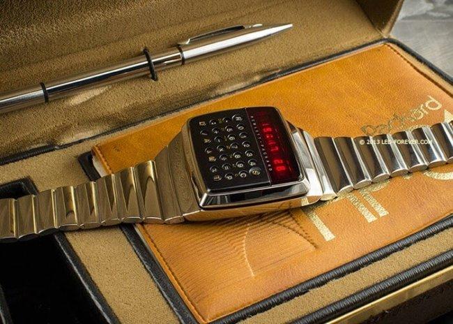 Умные часы HP 1977 года