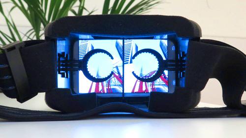 3д очки виртуальной реальности для смартфона qs virus box очки виртуальной реальности