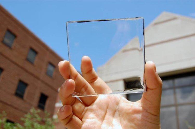 Солнечное стекло