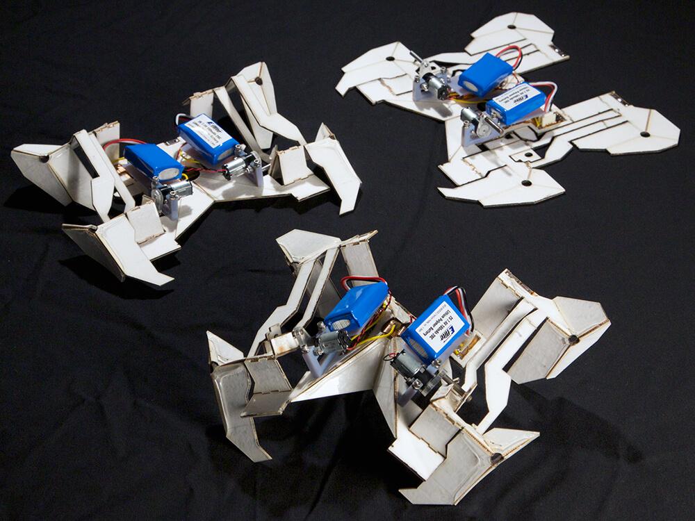 Роботы-оригами
