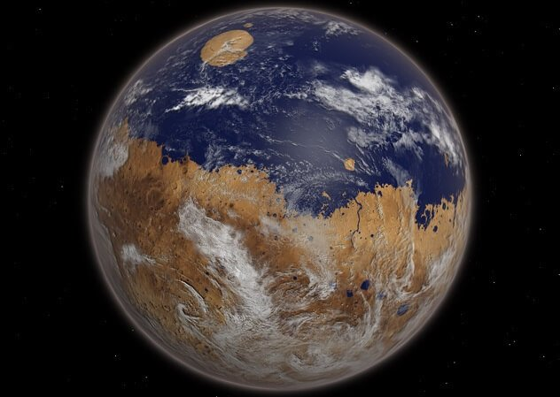 Влажный Марс