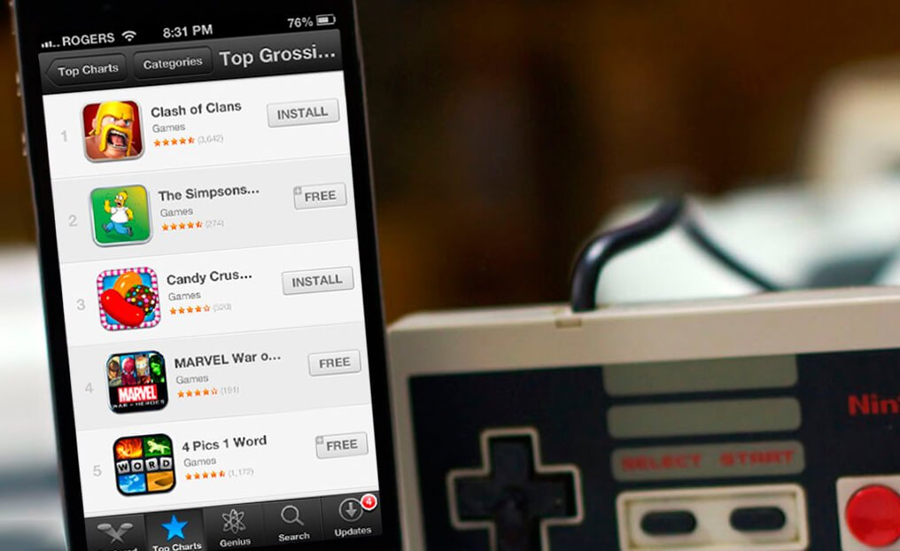 Свои деньги в мобильных играх тратят лишь 1,35% пользователей