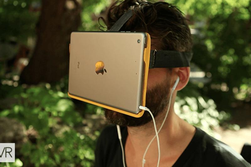Достойная альтернатива гарнитуре Samsung GearVR с iPad Mini в качестве дисплея