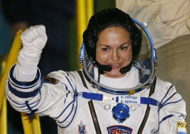 Секс женщины в космосе