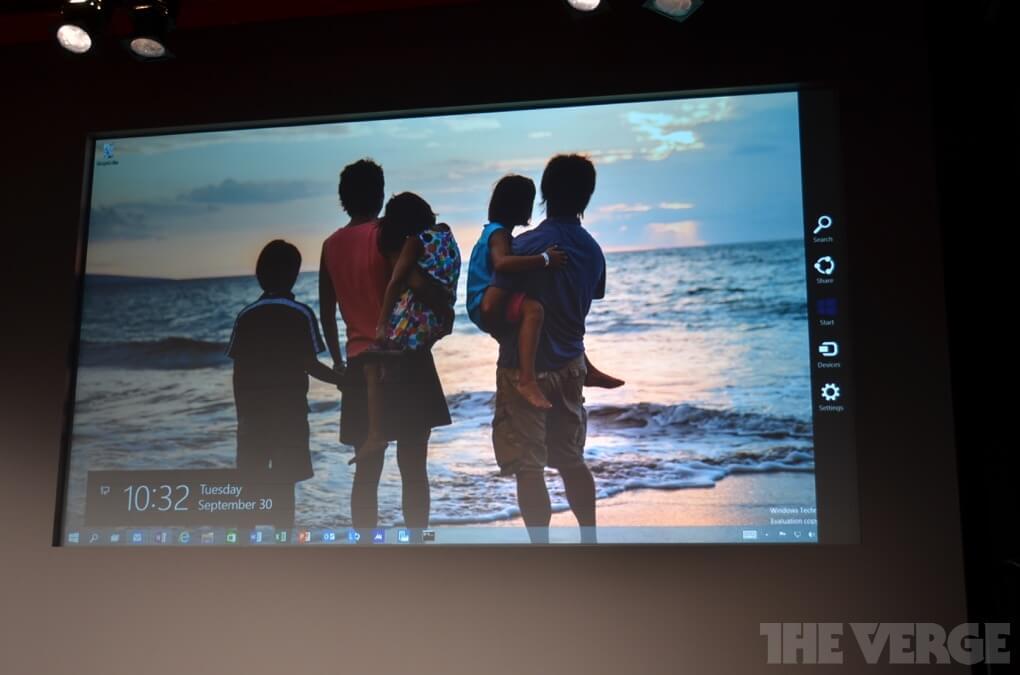 Windows 10 для сенсорных устройств