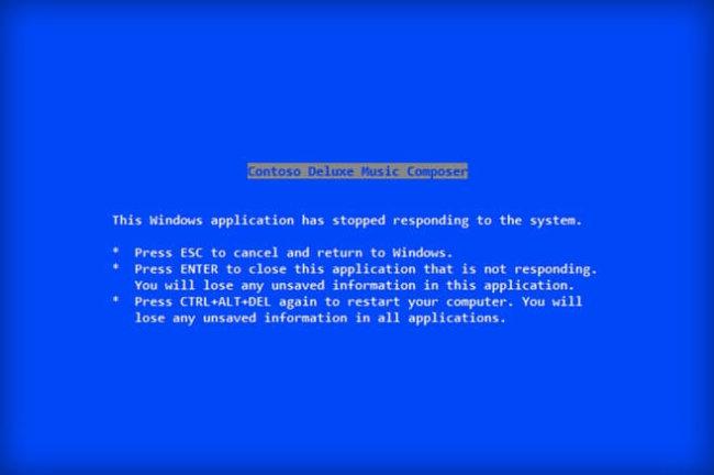 Стив Балмер лично написал текст для оригинального «синего экрана смерти»