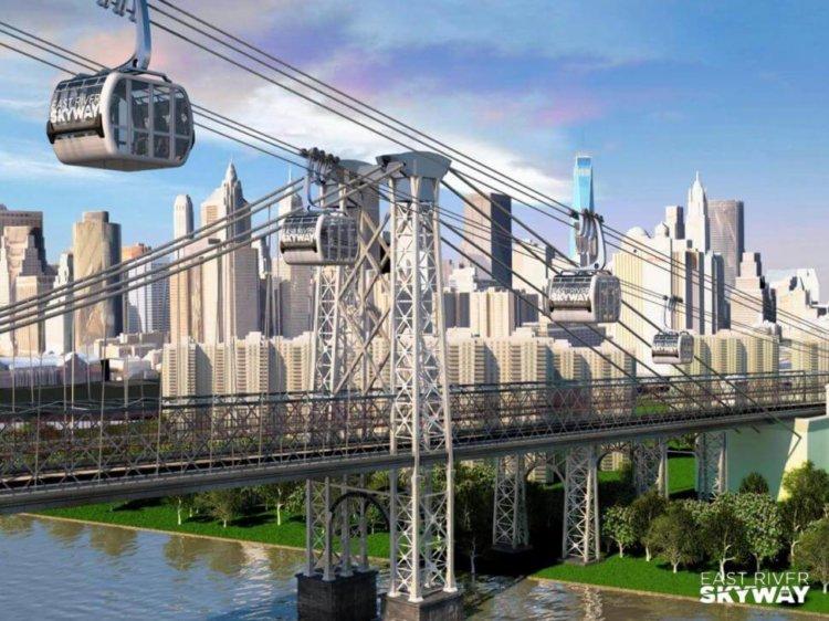 В Нью-Йорке построят сеть высокоскоростных гондол