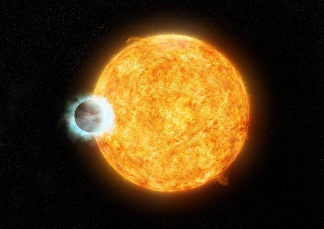 Планета и ее родительская звезда
