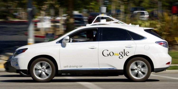 Самоуправляемые автомобили Google могут ездить по всей Калифорнии