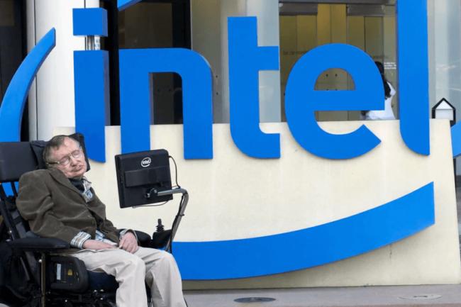 Intel создала кресло для Хокинга