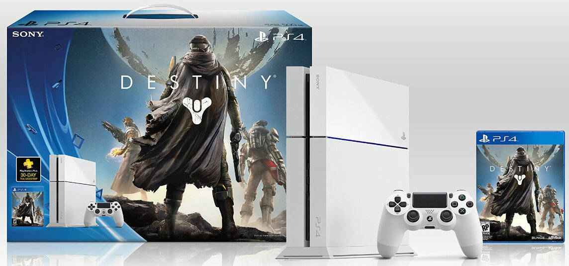 Белую игровую консоль Sony PlayStation 4 уже можно приобрести в России