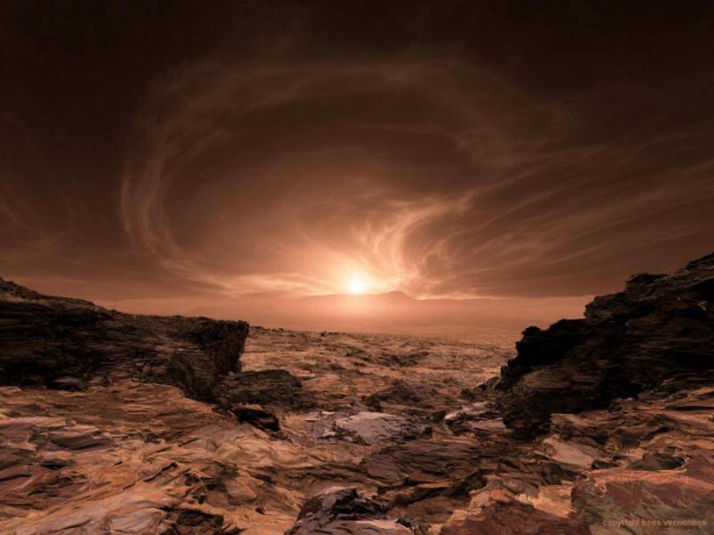 О чем расскажут марсианские облака (2 фото)
