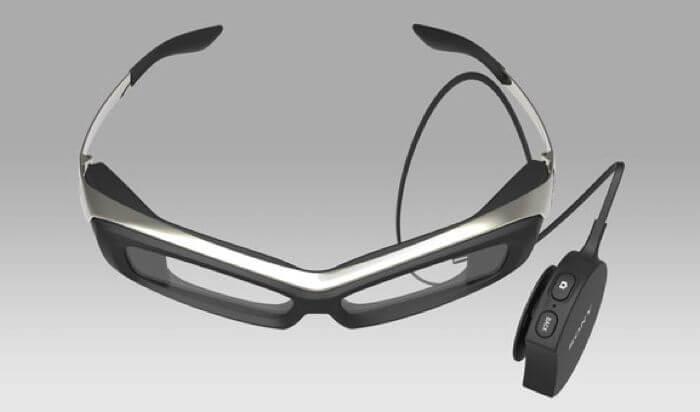 Умные очки SmartEyeglass от Sony