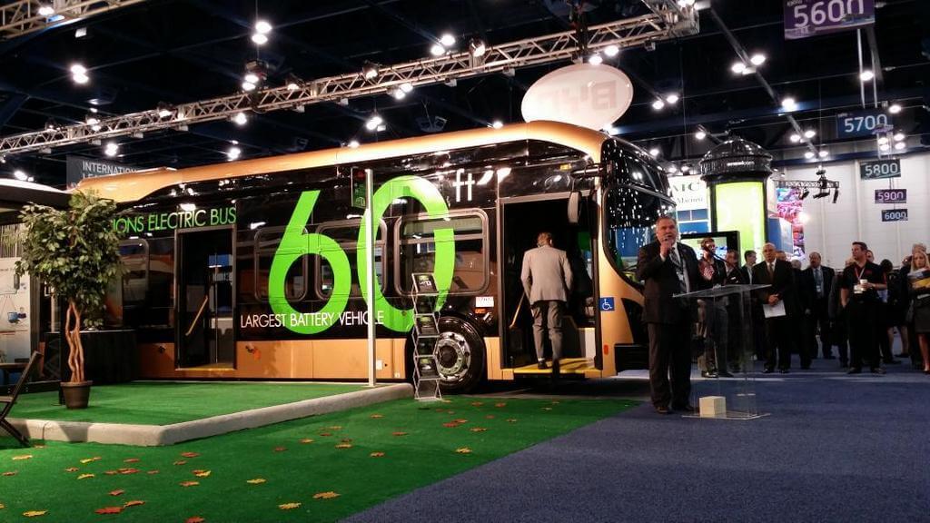 Самый большой электрический автобус