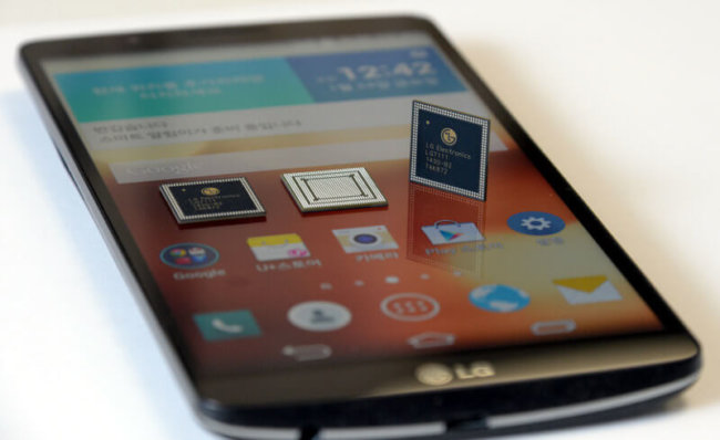 Процессор LG NUCLUN и смартфон G3 Screen