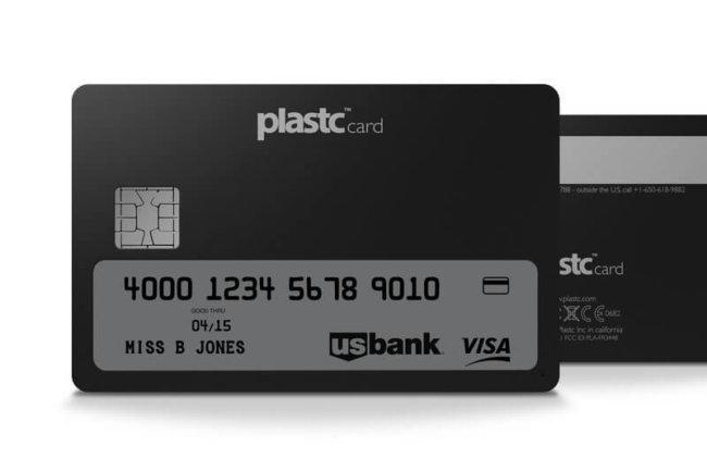 Компания Plastic хочет заменить весь ваш бумажник одной пластиковой картой