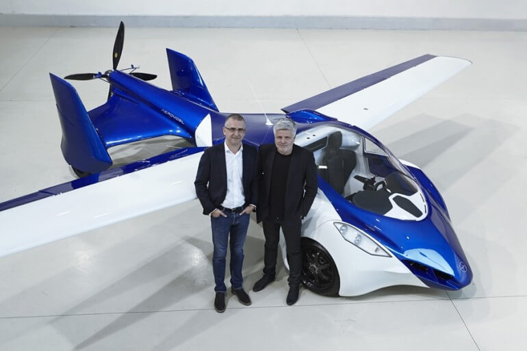 AeroMobil 3.0: будущее все ближе (фото)