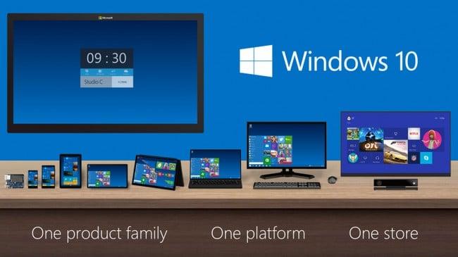 Универсальность Windows 10